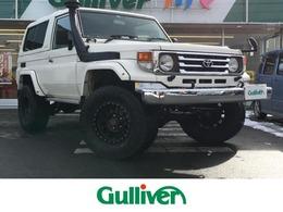 トヨタ ランドクルーザー70 4.2 ZX FRPトップ ディーゼル 4WD 背面タイヤ/バックカメラ/スタッドレス有り