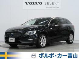 ボルボ V60 T4 SE 黒革 純正ナビ 全車速ACC 電動シート