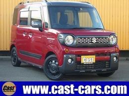 スズキ スペーシア 660 ギア ハイブリッド XZターボ 4WD ツートン/W電動ドア/ナビTV/LED/衝突軽減