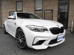 BMW M2コンペティション M DCTドライブロジック 本革 ワンオーナー 19インチAW
