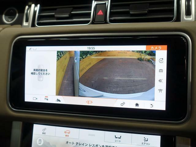 ◆サラウンドカメラ(360°カメラ)『車載のカメラを駆使し、車を真上から見下ろしている映像に変換、センターディスプレイに表示させ、安全な駐車をサポート。縦列駐車や狭い場所への駐車に大きく役立ちます。』