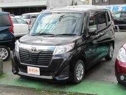 トヨタ ルーミー 1.0 G 4WD クルーズコントロール・純正ナビ・TV
