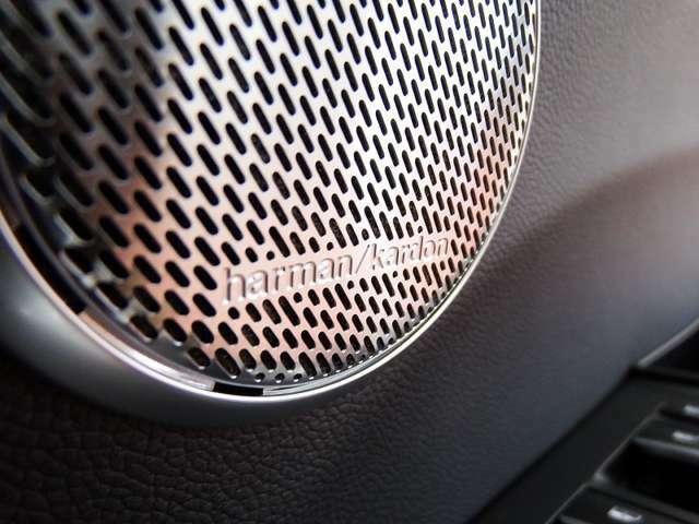 ★ハーマンカードン制プレミアムサウンドシステムが搭載されており、臨場感あふれるサウンドを体感いただけます!