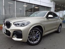 BMW X4 xドライブ30i Mスポーツ 4WD 19AWブラウン革デモカー認定中古車