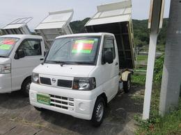 日産 クリッパートラック 6604WD多目的ダンプPTO 5MT 最大積載量350kg PTO式 エアコン