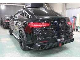 正規WALDフルエアロ/WALDエンブレム&スワロ加工!社外ブラックカーボントランクスポイラー!パワーテールゲート!LEDライセンス!360℃カメラ!パークトロニックセンサー!内外装美車!