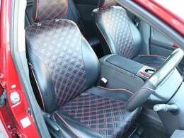 現車をご覧になれない方もクチコミをご参考にご検討お願いします♪】Clazzio黒革調シートカバー♪※運転席一部裂け有ります(^^;【