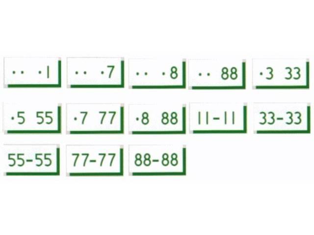 Aプラン画像:お客様ご希望のナンバープレートをご用意させて頂きます。(※抽選となる番号もある為、ご了承下さい)