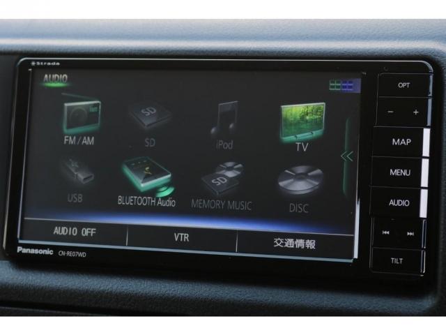 Bluetooth接続、地デジ視聴も可能ですよ!