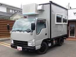 いすゞ エルフ キッチンカー パネルトラック