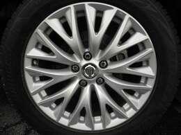 純正18インチアルミホイール!新品タイヤ装着後納車させていただきます。