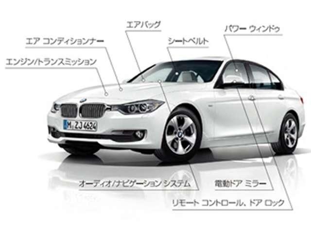 Bプラン画像:●保証対象箇所に万一不具合が生じても、「BMW プレミアム・セレクション延長保証」があれば無償修理を受けることができます。予期せぬ故障による出費をカバーできますので安心です●