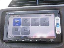 オーディオ機能はAM/FMラジオ、CDです。 ドライブの出先でもお好きな番組・音楽を楽しめますよ!
