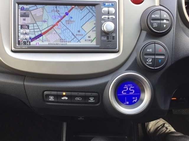 細かい温度調整が可能でとても快適なフルオートエアコン仕様です!