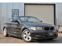 BMW 1シリーズカブリオレ 120i ブラックレザー 社外ナビ Bluetooth HID