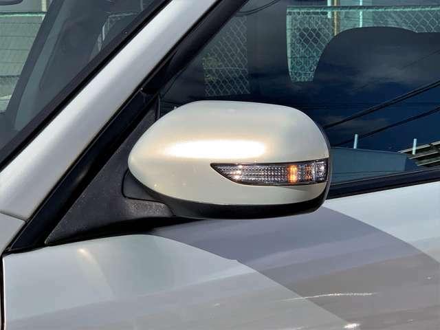 LEDサイドターンランプドアミラー!