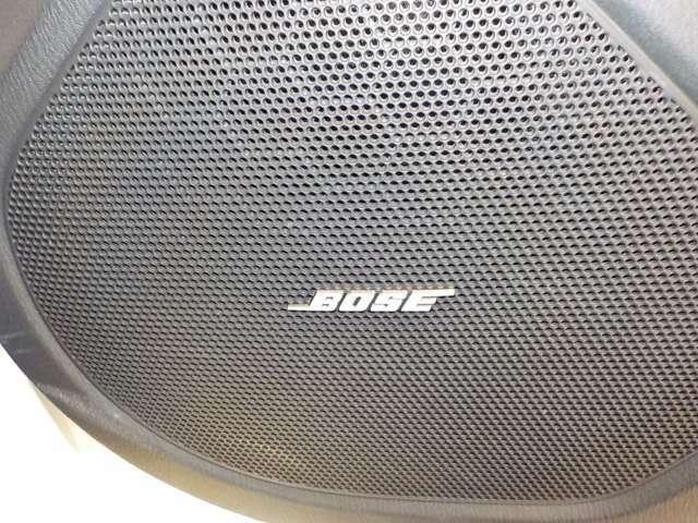 BOSEサウンドシステム搭載車両!一味違った音響システムをご堪能ください!