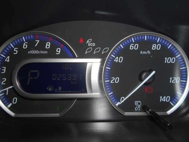 走行距離は2万5千Kmです。