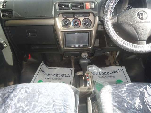 エアバッグは標準装備です。安全面も考慮されています。