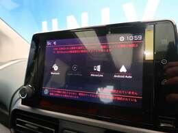 ●ミラーリンク対応:お持ちのスマートフォンを画面上に映し出せます!