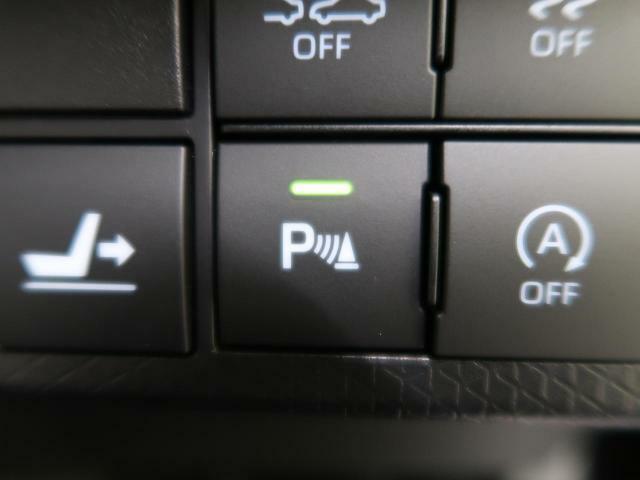 ●クリアランスソナー『前後バンパーに付いたセンサーが障害物が一定の距離に近づくとアラームで教えてくれます♪苦手な車庫入れも安心ですね☆』