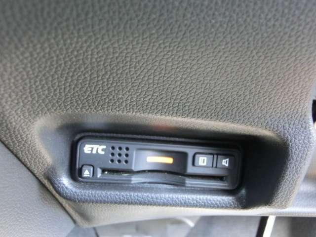 お出かけの必需品ETCも装備。料金所をストレスなく通過できます。
