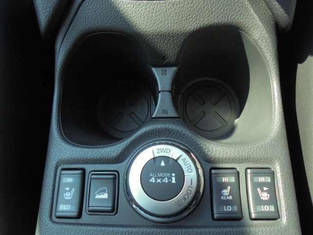 ALL MODE 4X4 Iは走行場面に応じて2WD、4WDの切替が可能