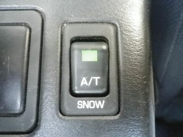 スノーモード付き。