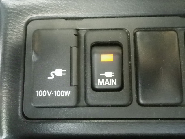 100V電源付き。