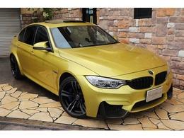 BMW M3セダン M DCT ドライブロジック ガラスサンルーフ ブラックレザー 禁煙車
