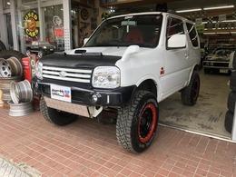 スズキ ジムニー 660 XC 4WD リフトアップカスタム 彩速ナビ・TV・ETC