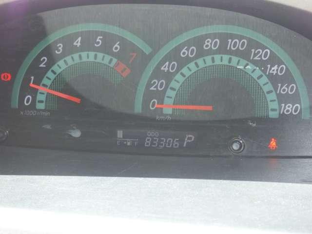 見やすいメーターパネル♪走行距離は83,308kmです!