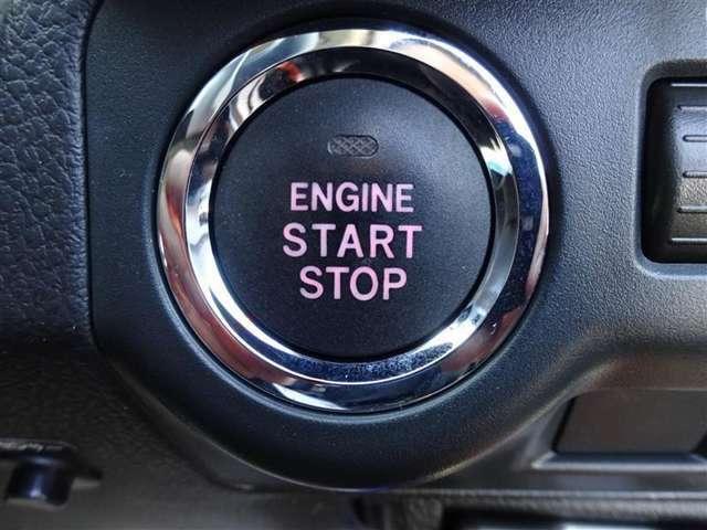 ●プッシュスタ-トシステム搭載● キ-が車内にあれば、ブレ-キを踏んでボタンを押すだけでエンジンONΣ(・ω・ノ)ノ!