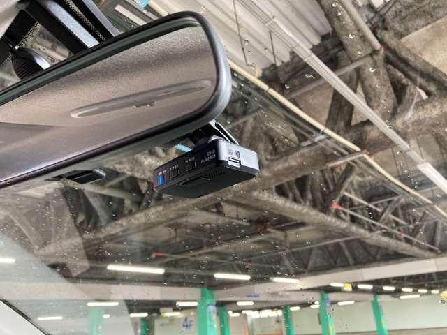 ドライブレコーダーで万が一の事故の場合でも、役に立ちます!
