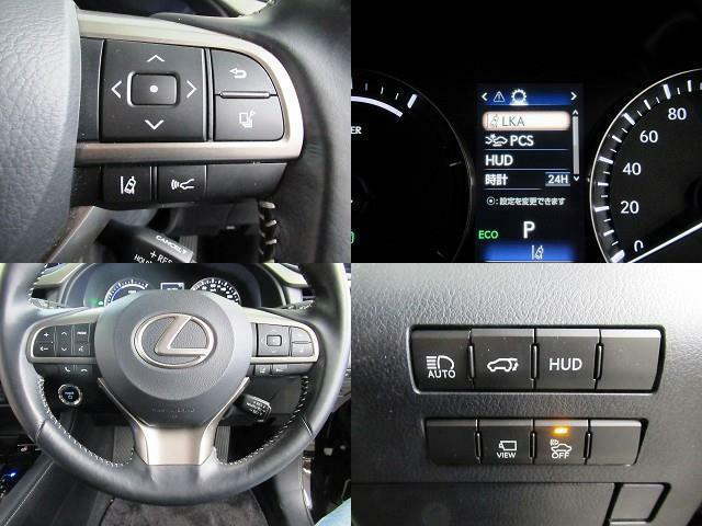プリクラッシュS・全車速レーダークルーズC・LKA・HUD・SDナビ・B&Sカメラ・BTオーディオ・ブルーレイDVD・オートハイビーム・電動ハッチバック・純正18AW・LEDライト・LEDフォグ