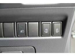 両側電動スライドドアを装備!車内ボタンでの開閉操作&キーレスリモコンでの遠隔操作もOK♪ぜひご活用下さい^^