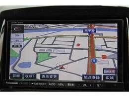 パナソニックストラーダSDナビ☆フルセグTV付!CD/DVDビデオ再生/Bluetoothオーディオ/SDスロット/外部入力/などなど多彩なメディアに対応可能♪