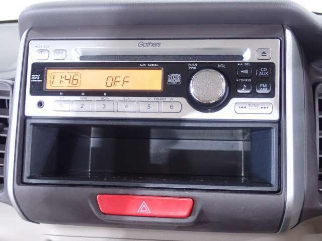 純正FM/AM/CDチューナー装着です。