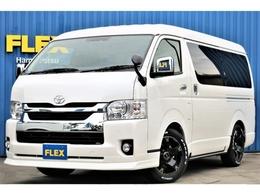 トヨタ ハイエース 2.7 GL ロング ミドルルーフ 4WD FLEXオリジナル内装架装Ver1