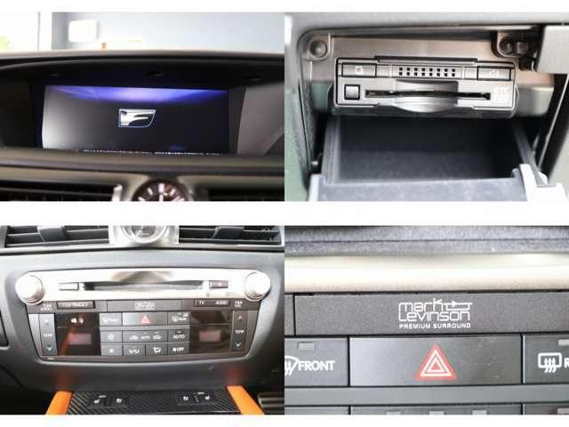 純正ナビ マークレビンソン フルセグTV ブルーレイ・DVD・CD・SD再生 Bluetooth・AUX・USB接続 ETC2.0