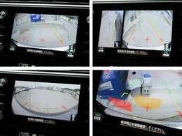 フロント/サイド/リヤビューカメラで車庫入れも楽々!!リアパーキングセンサーが障害物の接近を検知し、画像と音でドライバーに注意を促します!
