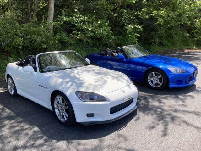 青S2000の他に白S2000もございますのでお気軽にお問い合わせ下さい(サーキット試乗センター 0436-52-4400)