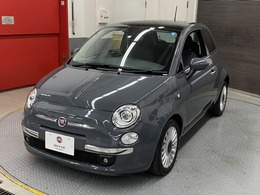 フィアット 500(チンクエチェント) ツインエア ラウンジ 自社保証 2DINナビ ブラック内装  絶版色