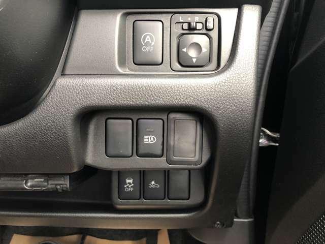 衝突被害軽減ブレーキ・横滑り防止などの安全装置が付いてます。