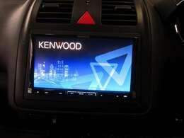 ケンウッドSDナビ付です。ワンセグTV視聴やBluetooth接続でハンズフリー通話や音楽再生も可能です♪
