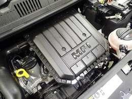 アップならではのASGを採用したエンジン!