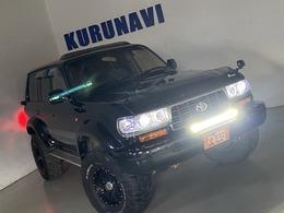 トヨタ ランドクルーザー80 4.2 VXリミテッド ディーゼルターボ 4WD ナビリフトUPヒッチSRLEDヘドテール