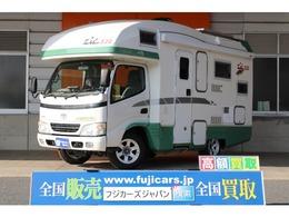 トヨタ カムロード バンテック ジル520 発電機 ウィンドウエアコン FFヒーター ナビ