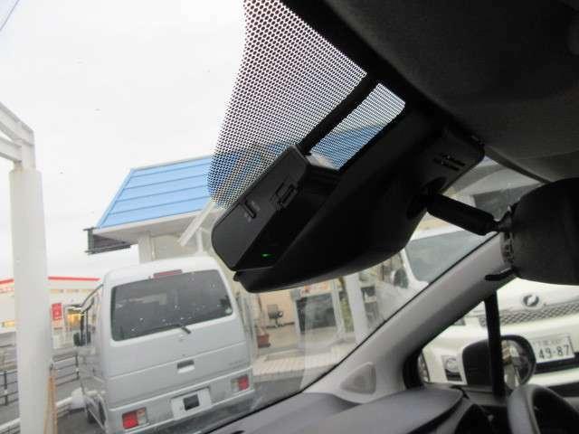 ドライブレコーダーが付いているので安心です!