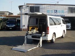 トヨタ ハイエースバン 2.0 リフト付バン ロング トヨタ商用リフト昇降雄能力260kg